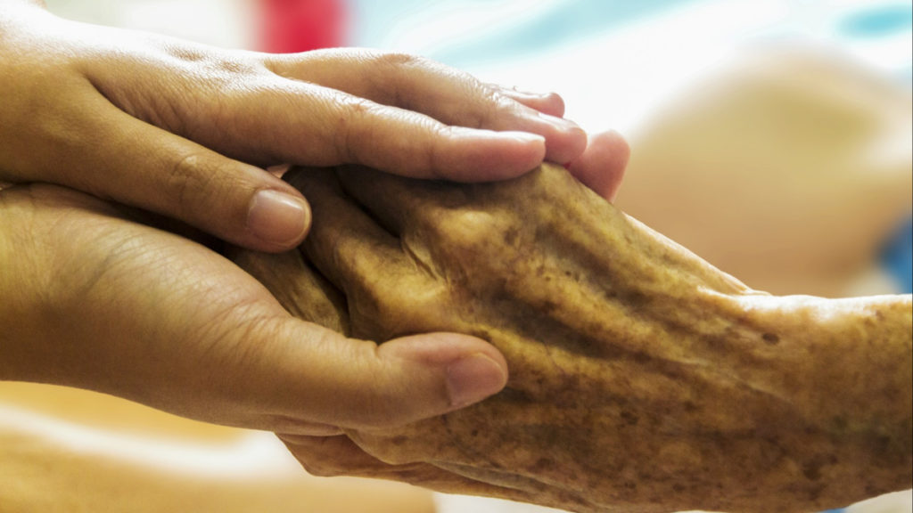 What is HHA? Home Health Aide: Holding hands